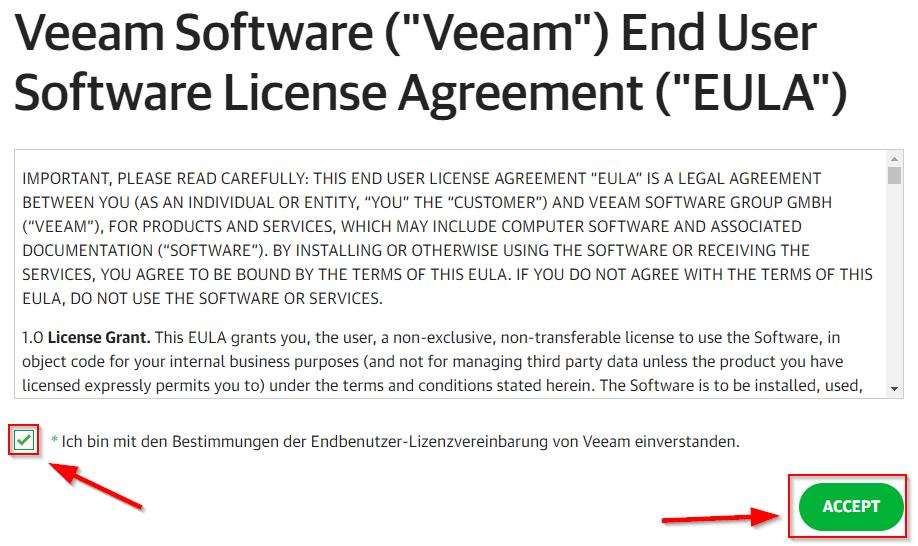 Lizenzbestimmungen Download